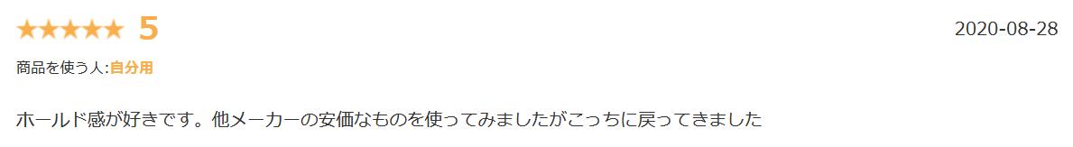 リネアストリアウィッグ用ネット楽天口コミ②